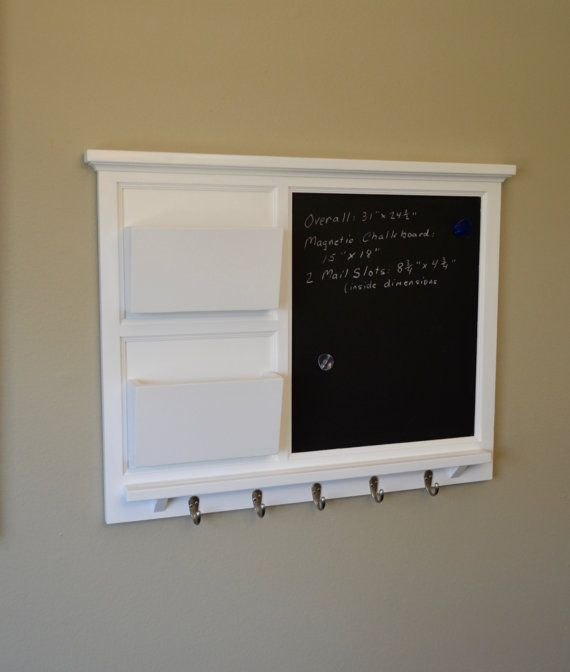 36 Best Images About Chalkboard Organizers On Pinterest