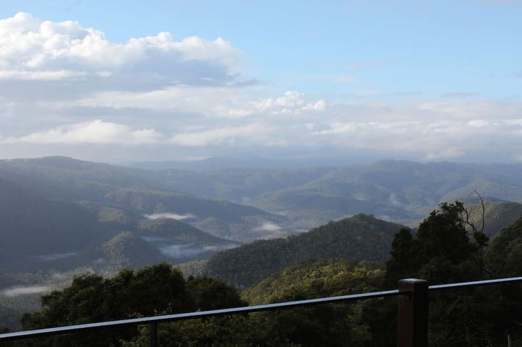 Check out this awesome listing on Airbnb: EXHALE 1: Spectacular Views on the Mountain's Edge - Apartments for Rent in Tamborine Mountain