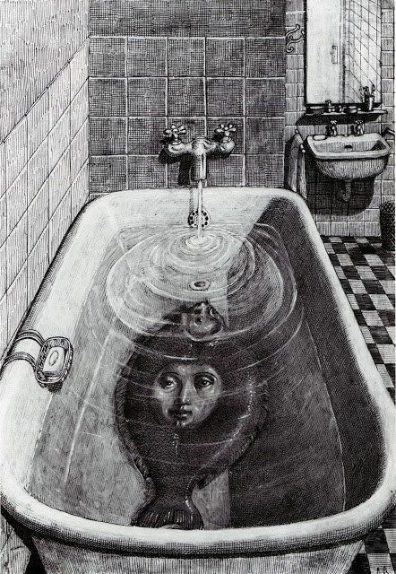 Domenico Gnoli, Bestiario Moderno drawing