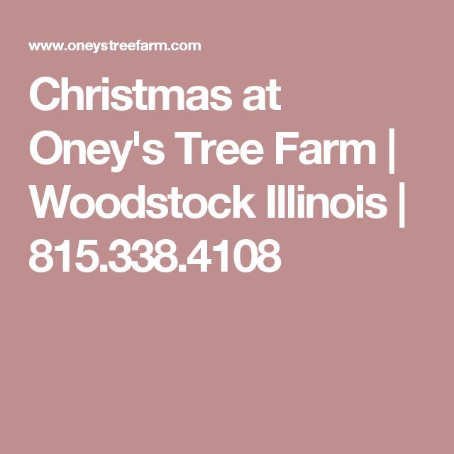 Christmas at Oney's Tree Farm | Woodstock Illinois | 815.338.4108
