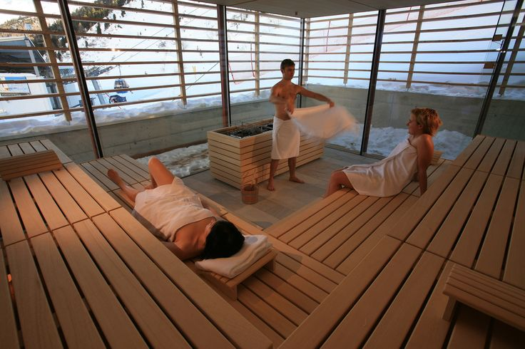 Hotel The Crystal | Design Hotel | Austria | http://lifestylehotels.net/en/hotel-the-crystal | sauna, wellness, heat, wood