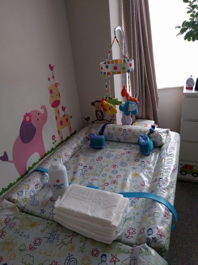 Baby Boy Crib Blanket