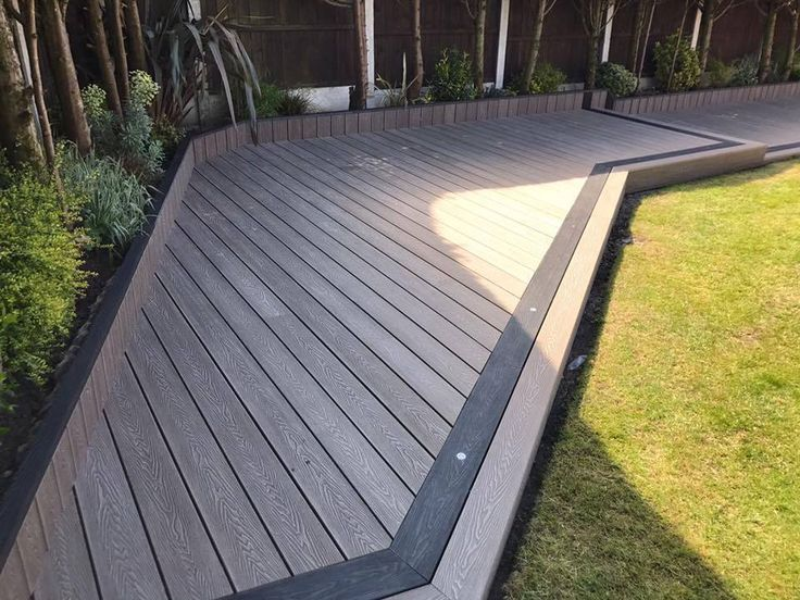 It is waterproof, splinter free and slip resistant making it the obvious choice your home. Built to withstand your growing family, our composite wood has been time tested with children, bicycles, barbecues, party-goers and paddling pools. | eBay!