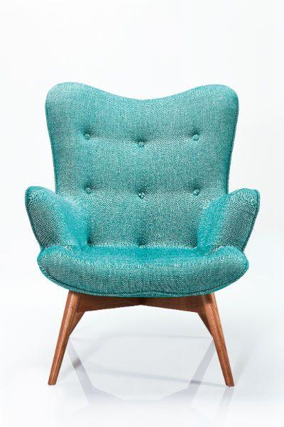 Πολυθρόνα Angels Wings Rhythm Green Μια κομψή και μοντέρνα πολυθρόνα, με ξύλινο σκελετό και υφασμάτινη επένδυση, 51% Viscose , 33% PA, 13% Linen. Διατίθεται και σε άλλα χρώματα.