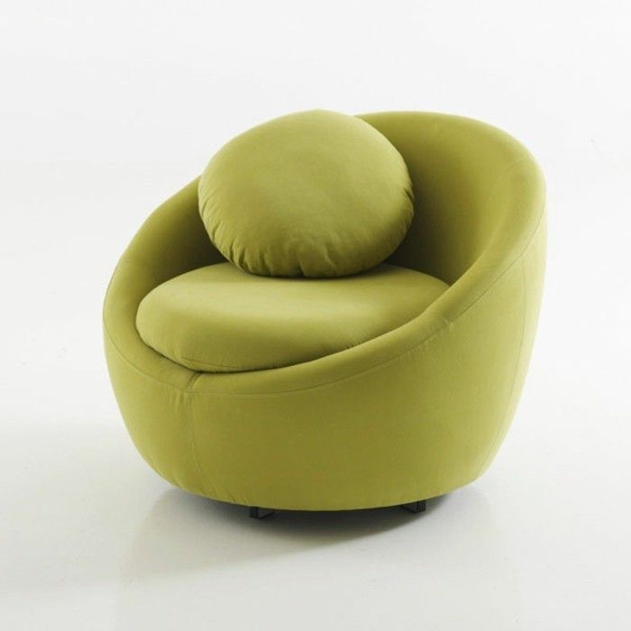 redoutable  fauteuil rond