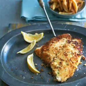 Crispy breadcrumbed lemon sole Recipe   delicious. Magazine free recipes