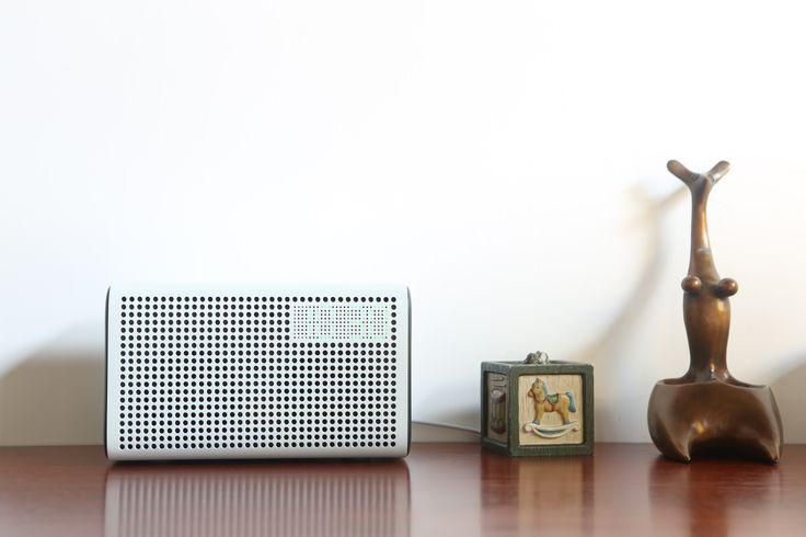Haut-Parleur Sans fil,Enceinte Bluetooth, Enceinte WIFI avec Alarme LED Clock & Smart USB Port de Chargement, Avec Airplay, DLNA, Spotify, Pandora, et Multi-Room Play, Diffusion de Musique à Partir de vos pour iPhone, iPad, Android et autre