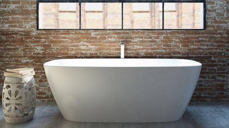 Caroma Contura 1700mm Freestanding Bath - Baths & Spas - Baths & Toilets - Bathroom, Tiles & Renovations | Harvey Norman Australia