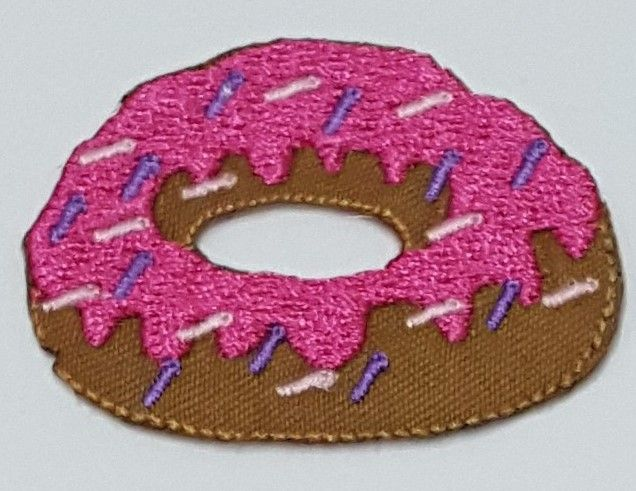 Patch Emoji Donut