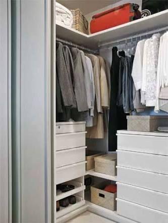 Картинки по запросу guarda roupa de canto casal apartamento pequeno