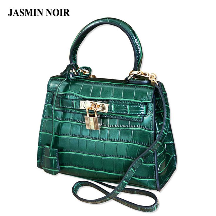 sac de marque mini womens handbag crocodile leather fashion handbags shoulder messenger small bag green bag sac a main femme click on the pin to check out - Sac A Main Color