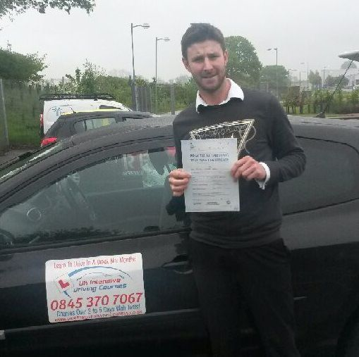 benjamin heuvel -3 day uk intensive driving course