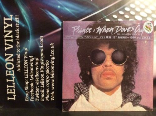 "Prince When Doves Cry 12"" Single W9286J Pop 80's (no Free 12""Single) Music:Records:12'' Singles:Pop:1980s"