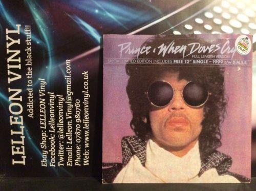 "Prince When Doves Cry 12"" Single W9286J Pop 80's (no Free 12""Single) Music:Records:12'' Singles:Pop:1980s"