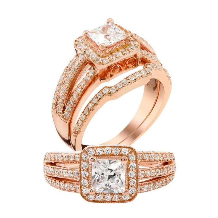 Popular  Kt Rose gold diamond wedding ring at Dubai Wholesale Diamonds Buy Diamond Wedding Rings Engagement Rings at wholesale Price