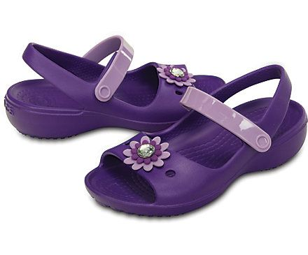 Girl S Keeley Mini Wedge Crocs Shoes For Maggie