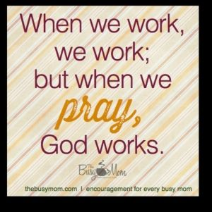 Lord let me not just pray but listen. by ivy