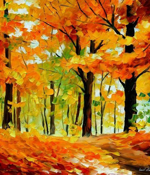 when autumn leaves fall