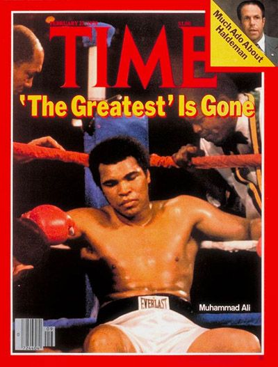 Muhammad Ali - Time Magazine Cover , February 27, 1978