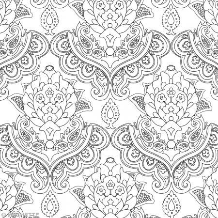 17 best images about envies de coloriages on pinterest line art printers and coloring pages - Mandala adulte ...