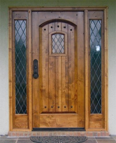 Knotty Alder Craftsmans - Clark Hall Doors offers elegant hardwood and wrought iron entries and interior doors. & 66 best Tudor Doors and Windows images on Pinterest | English tudor ...