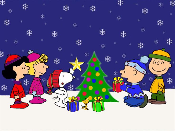 christmas backgrounds | Charlie Brown Christmas Background | Full Desktop Backgrounds