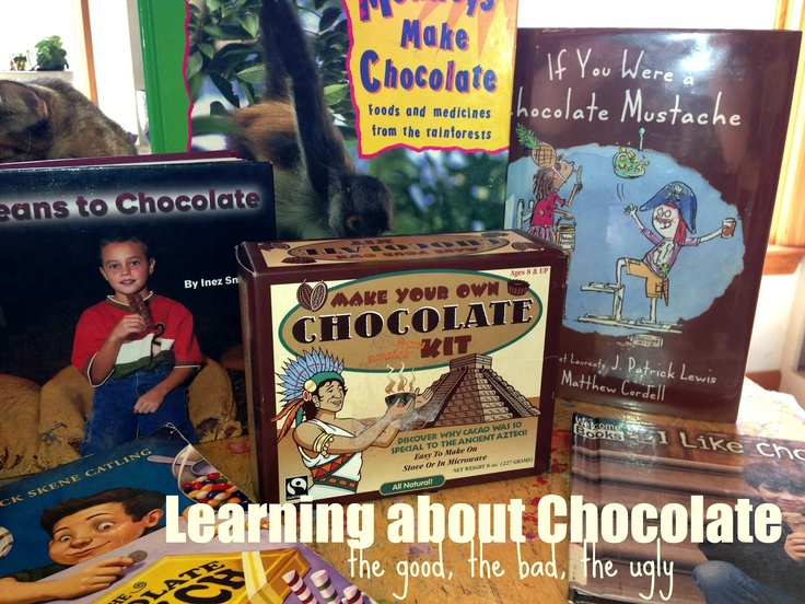 His Mercy is New: Chocolate Unit Study {and fair trade chocolate}