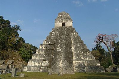 The Tikal is one of the largest archaeological sites and urban centres of the pre-Columbian Maya civilization. The Tikal was the capital of a conquest state that belonged to the Mayans.