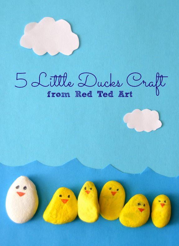 Spring Craft -- 5 Little Ducks Play Set