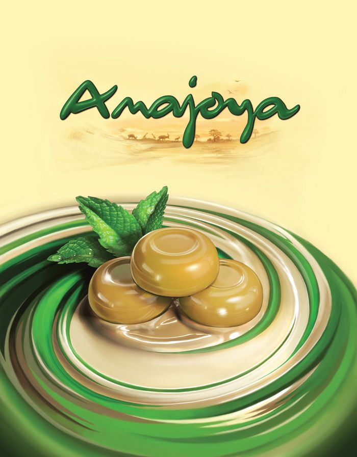 Amajoya : sweets pack's 3D illustration : by Disko Ferdi Dick