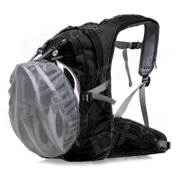 NUCKILY PM09 Outdoor Sports Water Resistant Oxford Backpack - Black (35L)