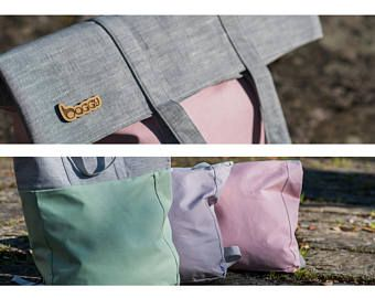 Bags are back! Check them out!  Handmade backpack &  shoulder bag ;)