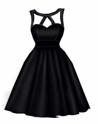 Rockabilly dress design by blueberryhillfashions.com