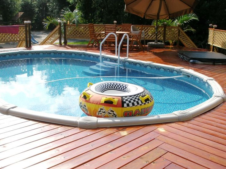 Luxury Backyard Swimming Poolsoval Above Ground Pool Deck 113 best above ground pools images on pinterest | ground pools
