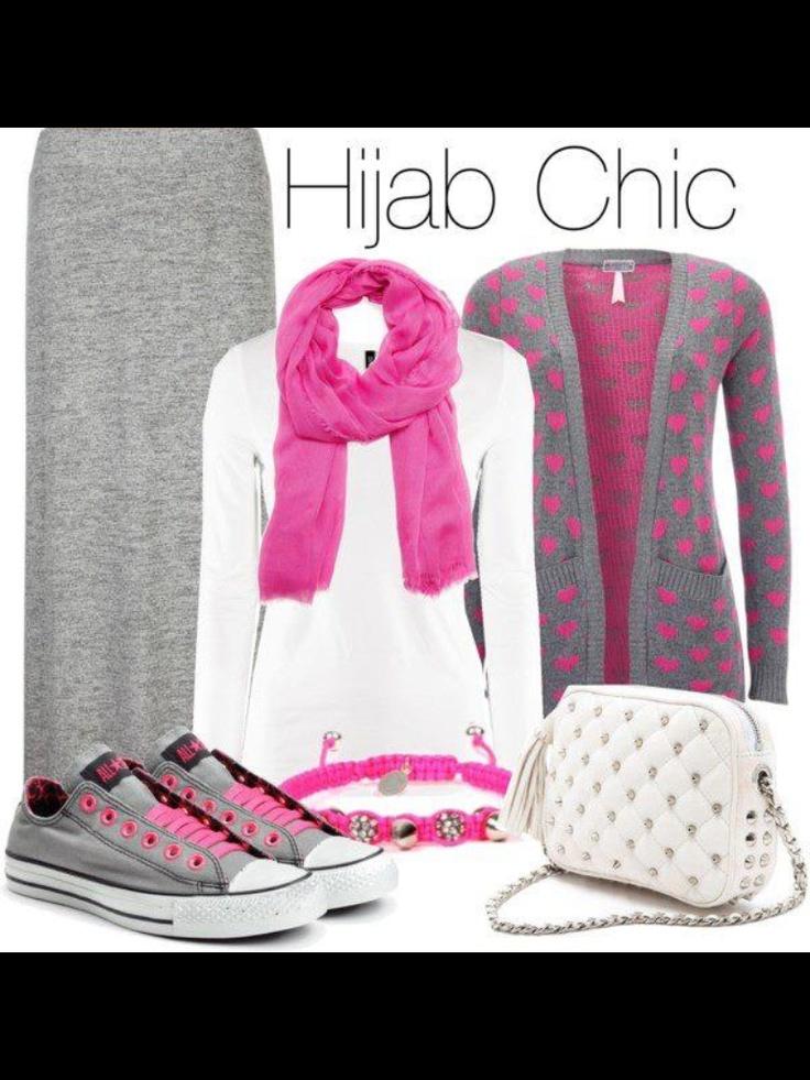 # Hijab casual look