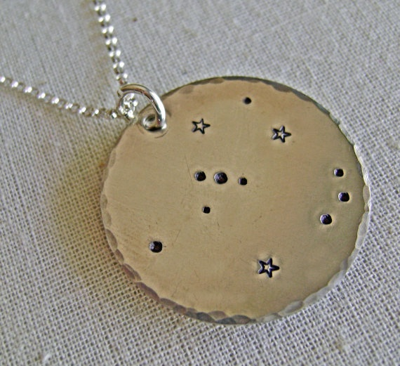 Orion constellation necklace: Constellations, Orion Necklace, Custom Constellation, Gift Ideas, Constellation Necklace, Sterling Silver, Necklaces, Accessories