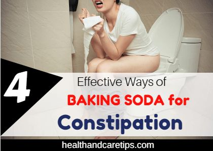TOP 4 Effective Ways of BAKING SODA for Constipation TOP 4 successful methods of BAKING SODA for Constipation you can consider? Here you are about to find out all the latest information to your queries.