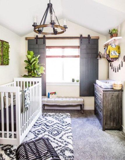 New Baby Nursery Themes Rustic Barn Doors 27+ Ideas #baby ...