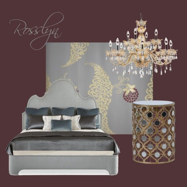 Rosslyn, Brinjal by petra-hus on Polyvore featuring interior, interiors, interior design, home, home decor, interior decorating and Farrow & Ball