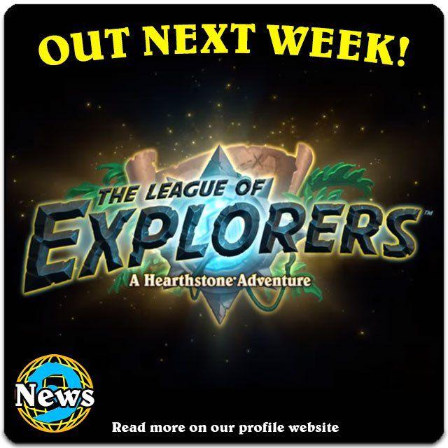 #hearthstone The League of Explorers Adventure