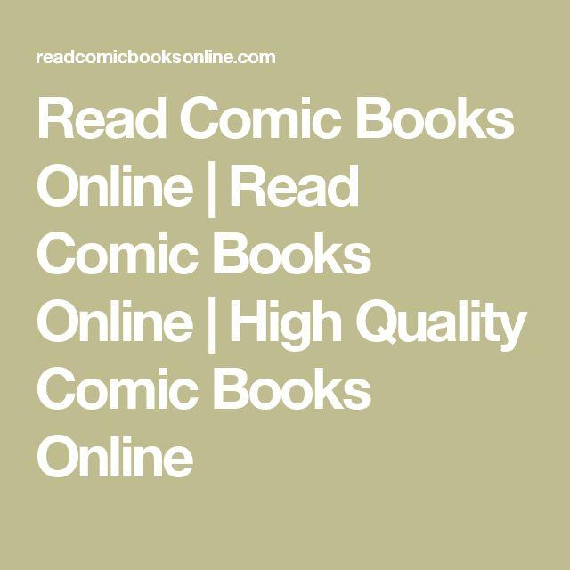 Read Comic Books Online | Read Comic Books Online | High Quality Comic Books Online