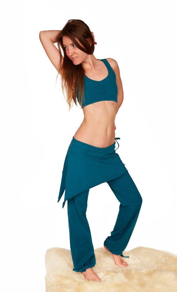 Womens Sport Pants Skirt Pants Organic Cotton Pants Lounge