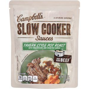 Campbell's Slow Cooker Sauces Tavern Style Pot Roast, 13 oz... so delicious!!