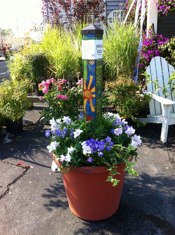 313 best Art Poles & Garden Totems images on Pinterest | Garden art ...
