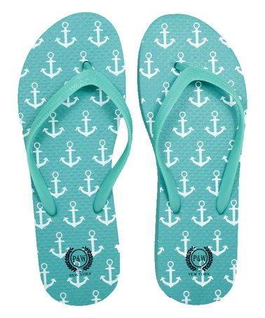 Reef Anchor Flip-Flop - Women  mint - aqua - teal