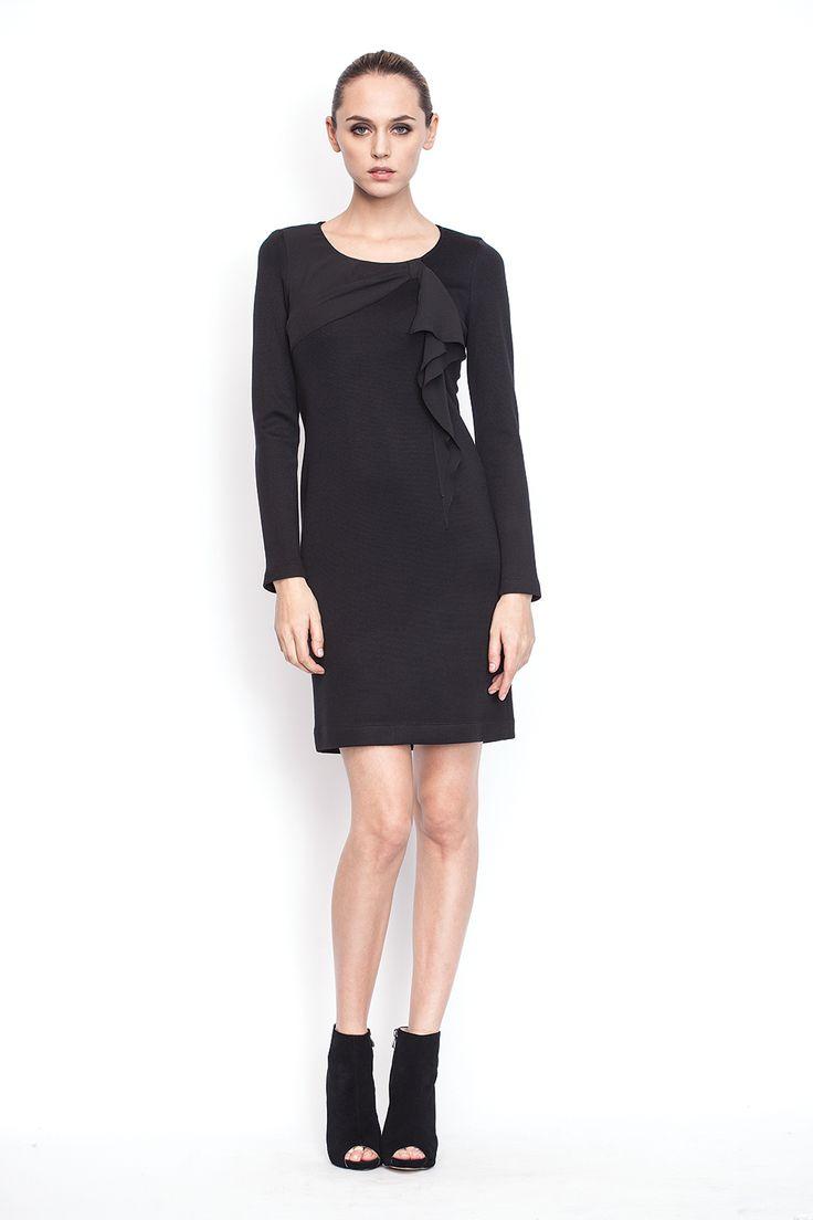 www.nissa.com  #nissa #outfit #fashion #style #model #fashionista #beautiful #black #dress