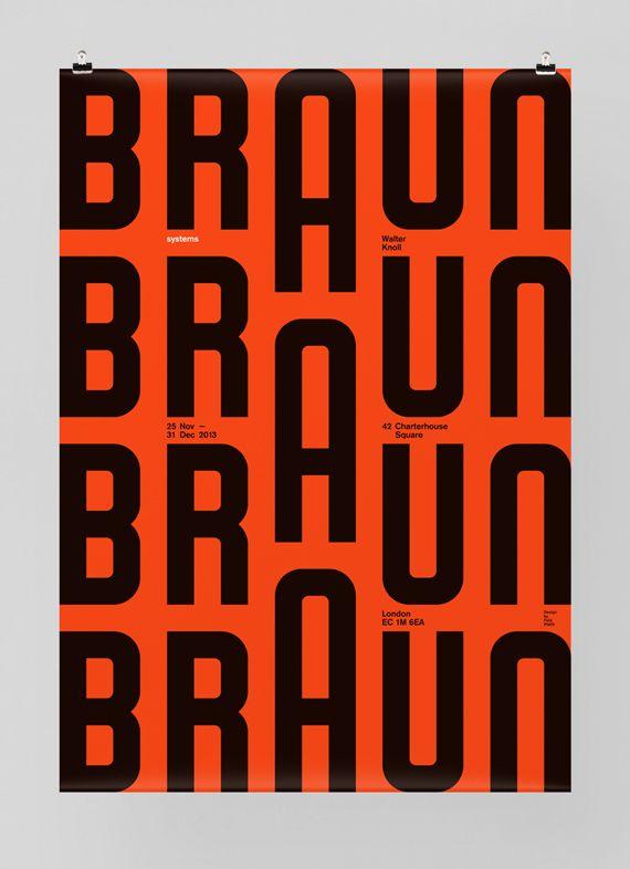 Braun event Poster