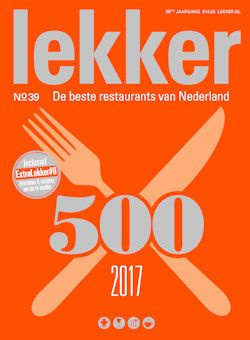 Lekker & Gezond Eten voor Foodies: Smullen geblazen: De Lekker 500 voor het komende jaar is uit en kent een aantal flinke wijzigingen in de top 100 beste restaurants. Verder aandacht voor de november-edities van de kookbladen Foodies en Gezond Eten.