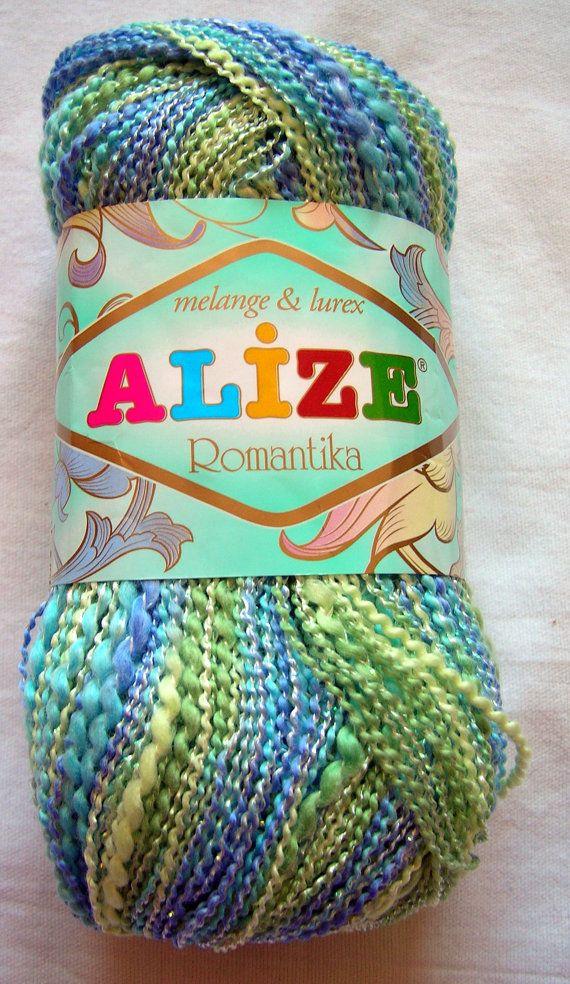SALE! Alize Romantika batik. Hypoallergenic multicolor by HandyFamily, €2.95