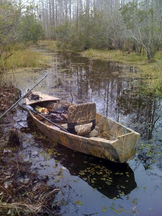 Hard To Believe This Is A Home Made Wood Boat Gator Model 1 Man